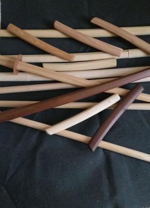 Тренировочное оружие для занятий айкидо.