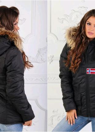 """Женская куртка """" Napapijri"""" на синтепоне"""