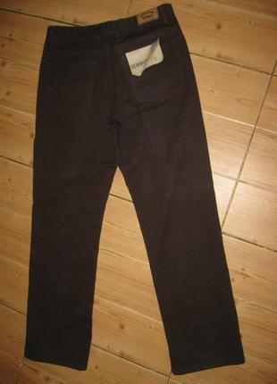 """Новые коричневые джинсы """"denin co"""" w 32 l30"""