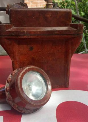 Шахтная лампа (налобный аккумуляторный светильник СГВ