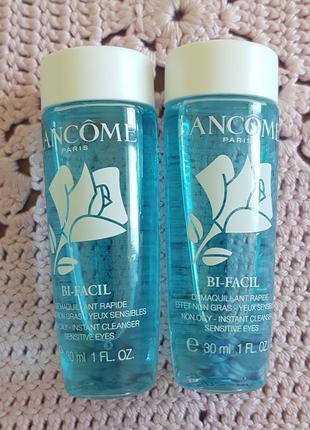 Lancome bi-facil двухфазное средство для снятия макияжа .