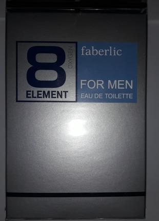 Туалетная вода для мужчин #8 Element #3242 #3202 100мл #акция