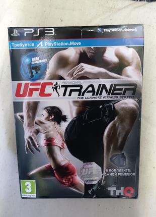 Игра UFC Trainer для PS3 Playstation 3 диск