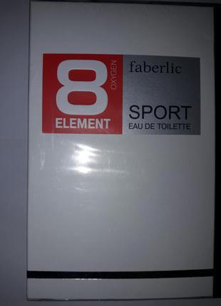 Туалетная вода для мужчин #8 Element Sport #3230 #3221 100мл