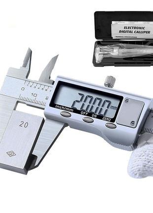 Высококлассный цифровой (электронный) штангенциркуль 0-150 мм