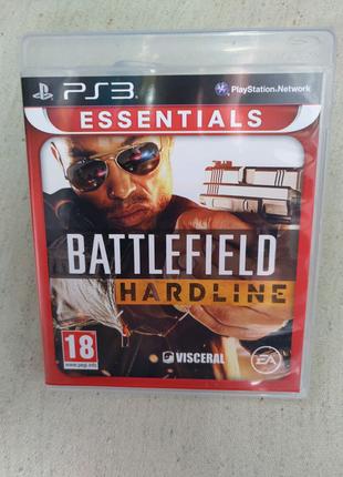 Игра Battlefield Hardline для PS3 Playstation 3 диск