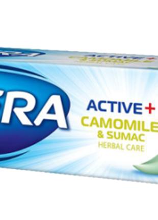 Зубная паста Astera Active+ с экстрактом ромашки 100 мл