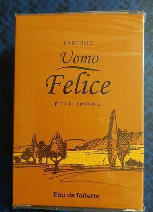 Туалетная вода faberlic Uomo Felice.pour homme
