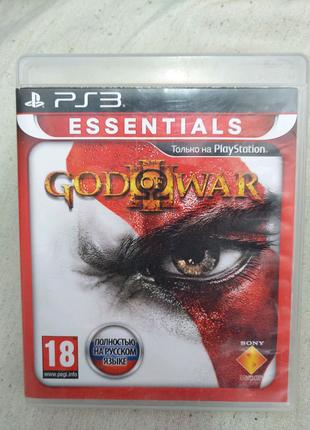 Игра God of War 3 для PS3 Playstation 3 диск