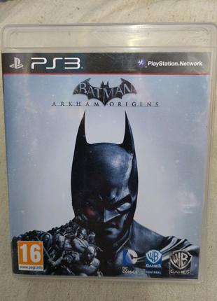 Игра Batman Arkham Origins для PS3 Playstation 3 диск