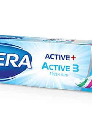 Зубная паста Astera Active 3 тройное действие 50 ml