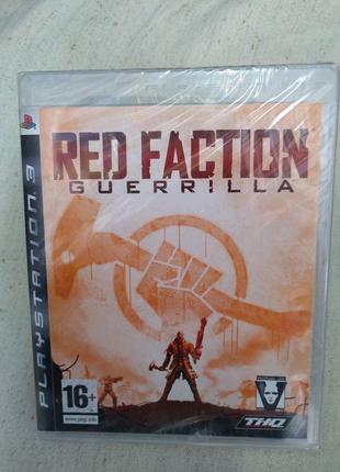 Игра Red faction Guerrilla новый для PS3 Playstation 3 диск