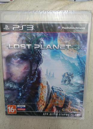Игра Lost Planet 3 новый запечатанный для PS3 Playstation 3 диск