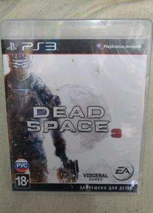Игра Dead Space 3 новый запечатанный для PS3 Playstation 3 диск