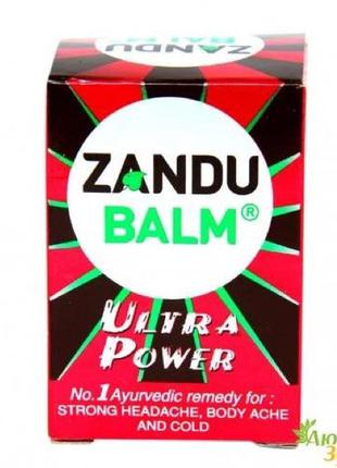 Бальзам Занду ультра сила, Zandu Balm Ultra Power , один бальзам
