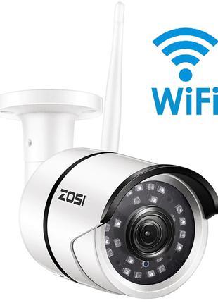 WiFi камера видеонаблюдения ZOSI, 2MP 1080P FullHD, IR, IP67