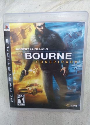 Игра The Bourne Conspiracy для PS3 Playstation 3 диск