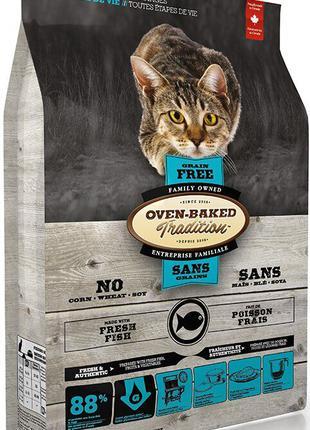 Oven-Baked Tradition беззерновой корм для кошек с рыбой 2.27 кг