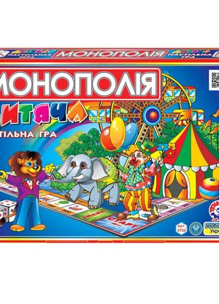 """Настольная игра """"Детская монополия ТехноК"""""""