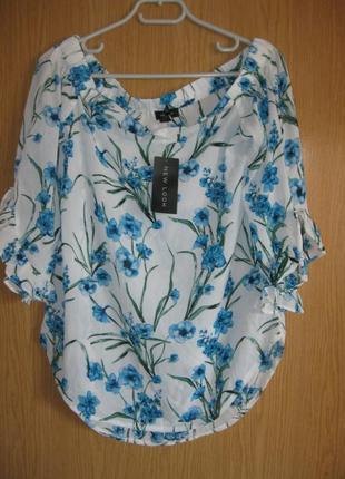 """Новая блузка со спущенными плечами """"new look"""" р. 46"""