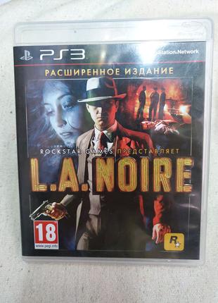 Игра L.A. Noire Расширенное издание для PS3 Playstation 3 диск