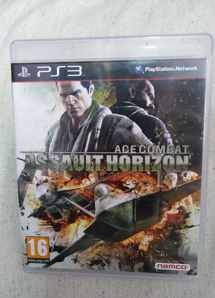 Игра Ace Combat Assault Horizon для PS3 Playstation 3 диск