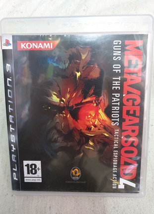 Игра Metal Gear Solid 4 для PS3 Playstation 3 диск
