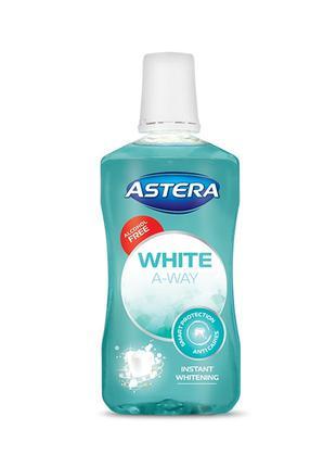 Ополаскиватель для полости рта Astera White отбеливающий 300 мл