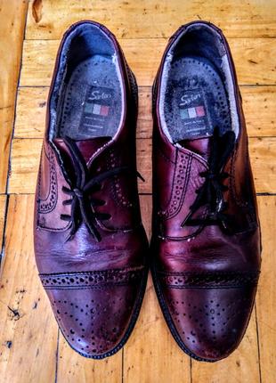 Туфли мужские из натуральной кожи Silga