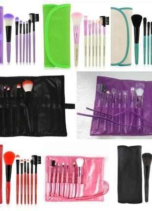 Акция ♥ кисти для макияжа набор 7 шт в футляр