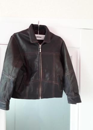 Кожаная куртка, демисезонная куртка