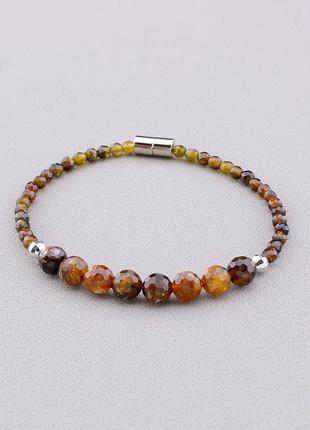 Браслет 'sunstones' турмалин 17 см. 0937490