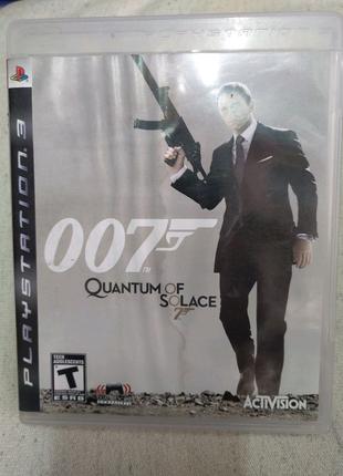 Игра 007 Quantum of Solace PS3 Playstation 3 диск