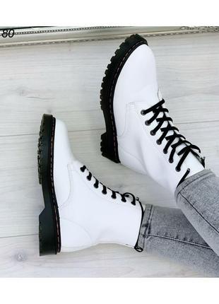 Ботинки женские на шнуровке 51180