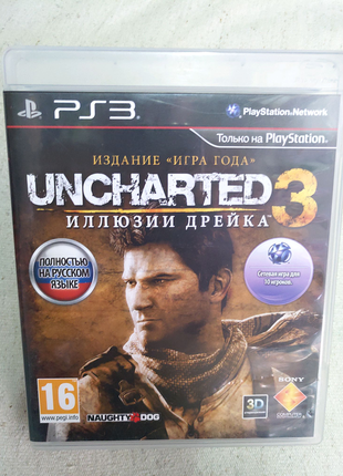 Игра Uncharted 3 PS3 Playstation 3 диск