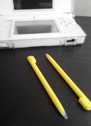 Стилус 2шт Nintendo DS Lite DSi Желтый Stylus (old 3ds xl)