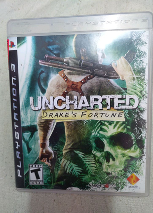 Игра Uncharted Drake's Fortune PS3 Playstation 3 диск