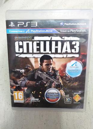 Игра Socom Спецназ PS3 Playstation 3 диск
