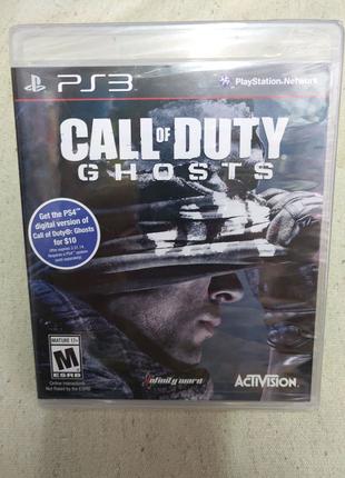 Игра Call of Duty Ghost новый запечатанный PS3 Playstation 3 диск