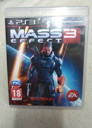 Игра Mass Effect 3 PS3 Playstation 3 диск