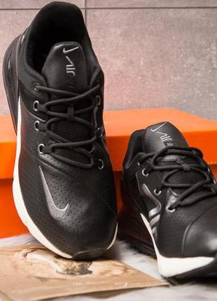 Кожаные мужские кроссовки nike air 270