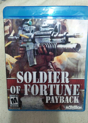 Игра Soldier of Fortune PayBack PS3 Playstation 3 диск