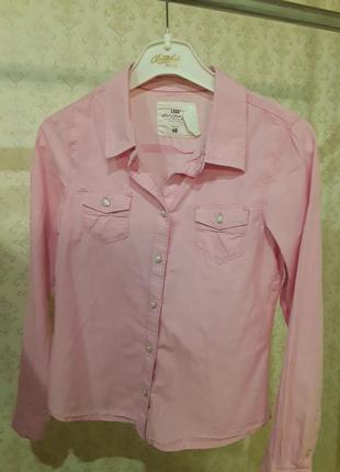 Розовая рубашка мальчику