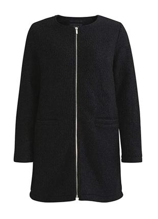 В наличии - буклированное деми-пальто на молнии *vila clothes*...