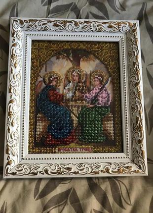 Икона «Святая Троица» Hand Made