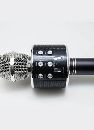 Микрофон-караоке WS 858 Black