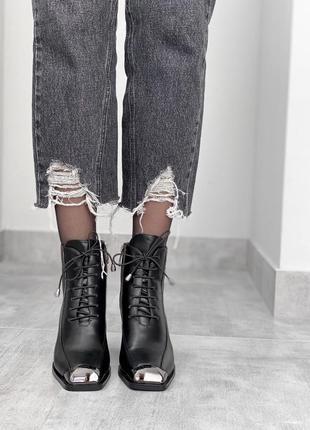 35 размер ботинки женские на шнуровке и каблуке