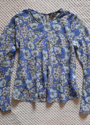 Красивая шифоновая блуза в цветочный принт от New Look