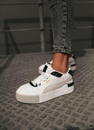 Кроссовки Puma Cali Sport White Black