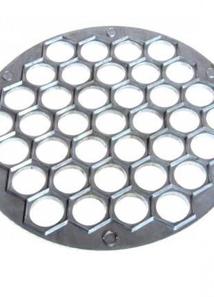 Металическая форма для быстрой лепки пельменей. 37 штук за 1 раз